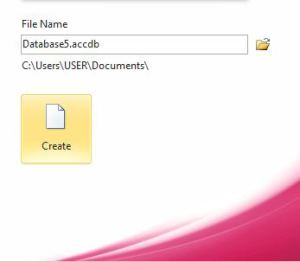 MS Access database file repair tool