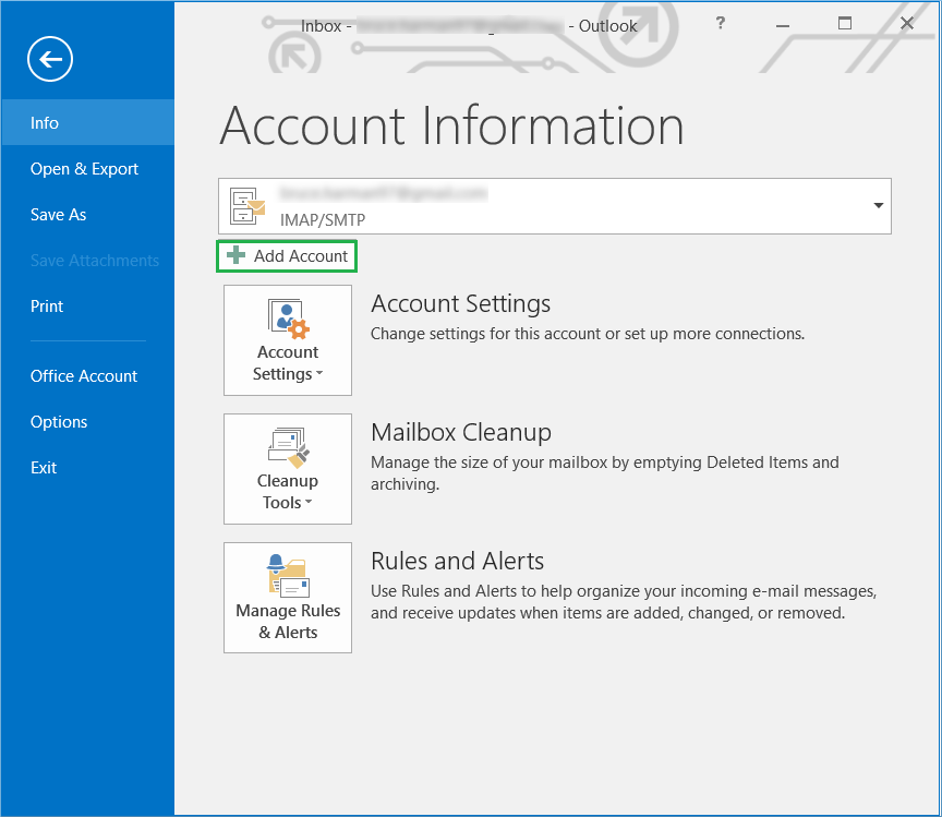 Guide to Sync Your Gmail Account With MS Outlook